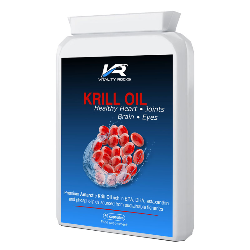 Krill Oil - 60 Caps 500mg