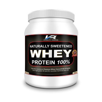 Naturally Sweetened Whey Protein 600g